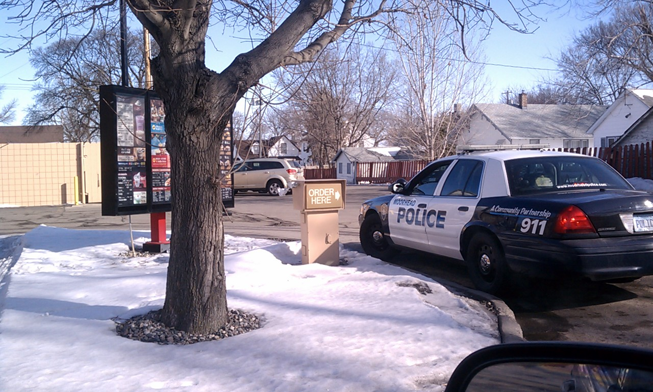 Moorhead Police Arrest McDonalds Drive-Thru Speaker