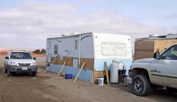 """Piece of Crap"" Recreational Vehicle Thrives in Western North Dakota Oil Boom"