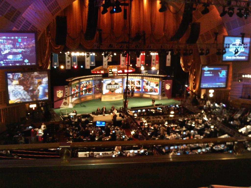 NFL Fantasy Mock Draft 2012