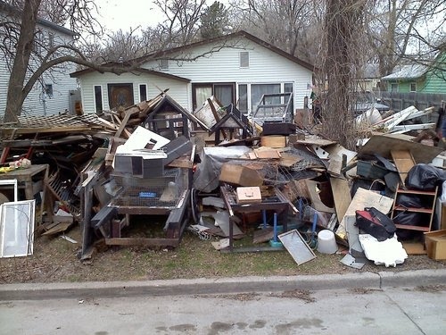 Cleanup Week In Fargo-Moorhead Leaves Strange Items On The Curbside
