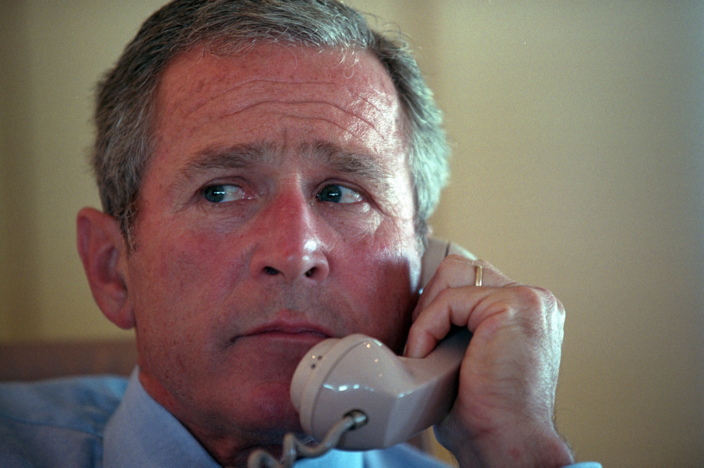 White House Not Returning George W. Bush's Voicemails