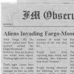 Aliens Invading Fargo Moorhead