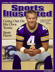 Brett Favre contemplating a return