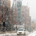 Downtown Fargo In The Winter