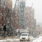 Downtown Fargo In The Winter