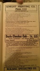 Doyles Taxi Cab Fargo North Dakota