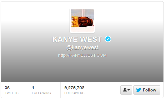 Really Interesting Tweets by Kanye West