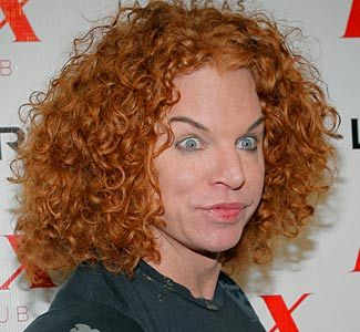 Carrot Top To Visit Afghanistan In Peacemaking Venture