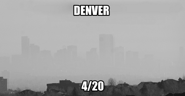It's 4/20 In Denver