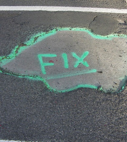 Fargo Potholes