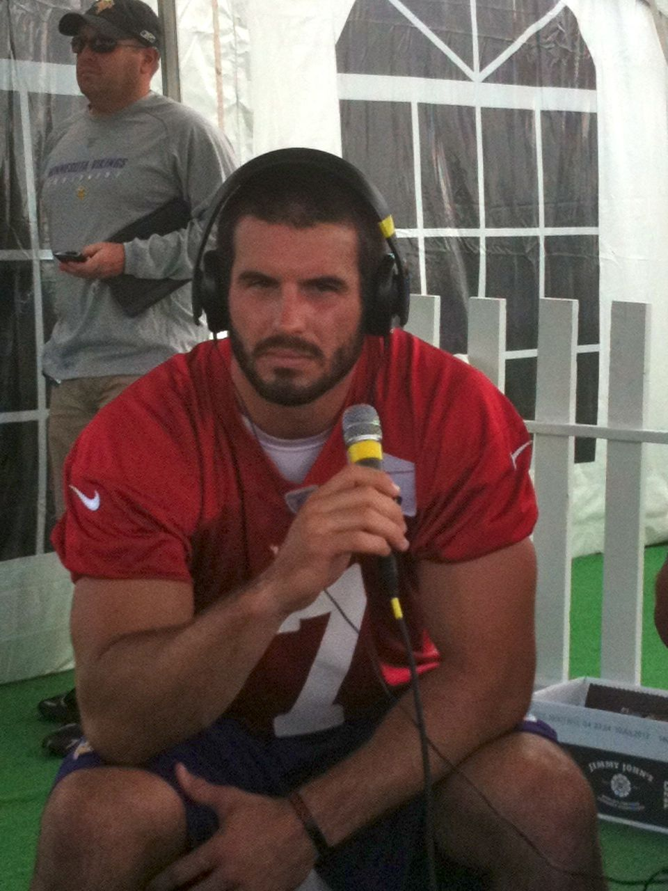 Christian Ponder Excited to Study Under Starting QB Matt Cassel