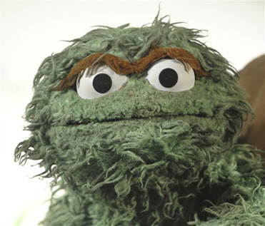 Oscar The Grouch Admits He Is Made Of Marijuana