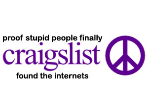 craigslist for stupid people
