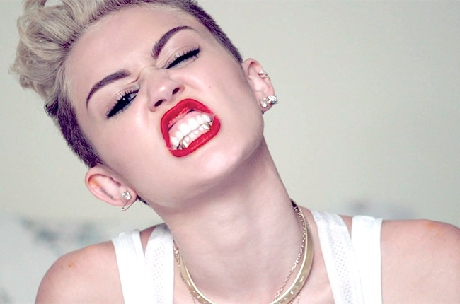 Terrible Song Lyrics of The Week – We Can't Stop (Miley Cyrus)