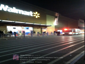 walmart ambulance black friday