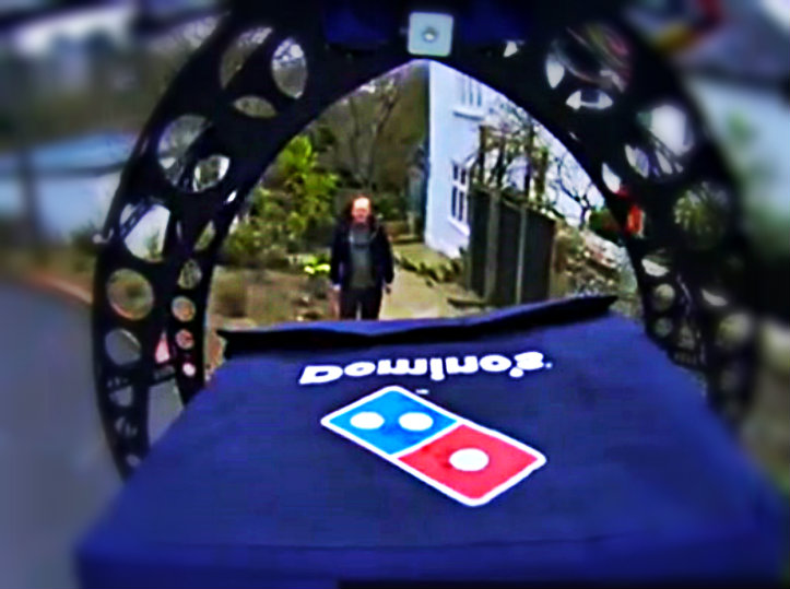 Super Bowl Pizzas Delivered By Drones