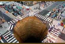 New York Sinkhole Continues To Swallow Victims