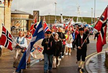 Norwegians Marching To Protest All Those Stupid Norwegian Jokes