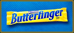 "Butterfinger says ""Nyet"""