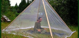 Meditation Tents One Way To Combat Stress From Mosquitos