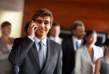 Phone Call Bails Area Man Out Of Face-to-Face Conversation