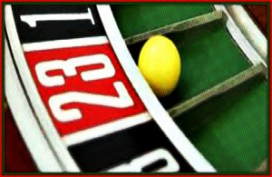 Roulette Wheel #23 is the most often hit number.