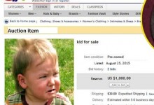 Woman Lists Infant Child On Ebay