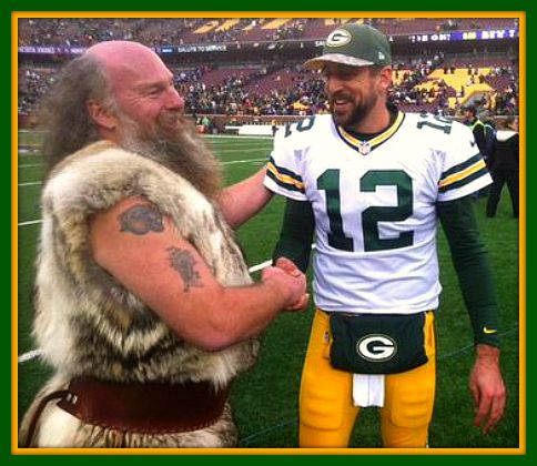 Former Vikings Mascot Now With Green Bay Packers Fm