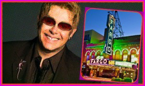 Sir Elton John is the proud new owner of the famous Fargo Theater.