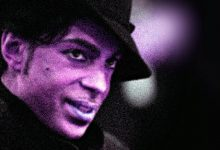 Prince Look-A-Like Also Loves Purple