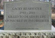 FM Observer To Sponsor Park Wood Cemetery Renovation
