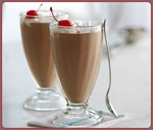 Why just have one chocolate milkshake when you can just as easily have two?!