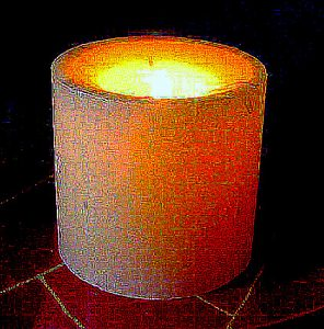 FMO's World Peace Candle has been lit to show that we care more than you.