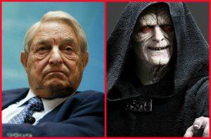 George Soros is Emperor Palpatine is George Soros