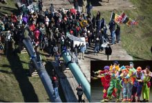 Area Clowns Needed To Scare Off Pipeline Protesters