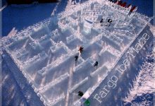 Fargo's Ice Maze Is Free Freezing Fun