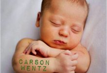 First 2017 Fargo Newborn Gets A Carson Wentz Tattoo