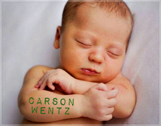 First 2017 Fargo Newborn Gets A Carson Wentz Tattoo Fm Observer