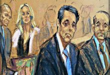 Court Artist Accused Of Drawing-Under-The-Influence At Cohen/Daniels Court Hearing