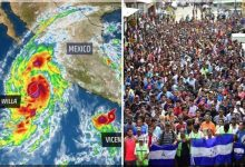 President Trump Orders Up Some Hurricanes To Dissuade Caravan Of Illegals