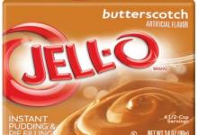 Nothing Says 'I Like You' Like Butterscotch Pudding