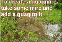 Dear FMO: How Can We Create A Quagmire On Our Property?