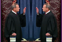 Chief Justice John Roberts Swears Himself In During Rare Senate Moment