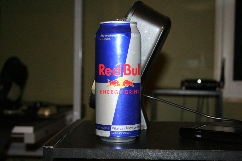 Red Bull® gives man wings; man sues