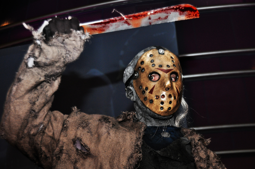 Jason Voorhees taking this Friday the 13th off