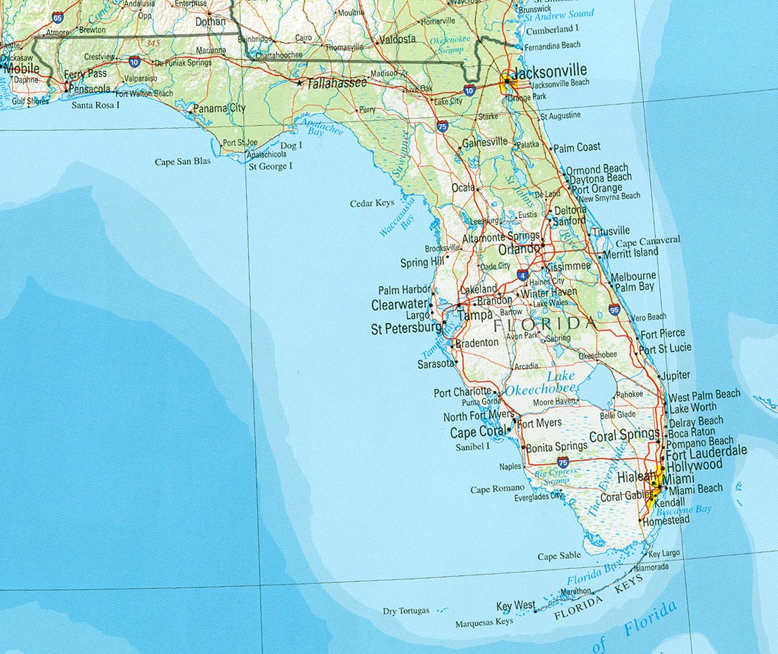 United States government closing Florida border permanently