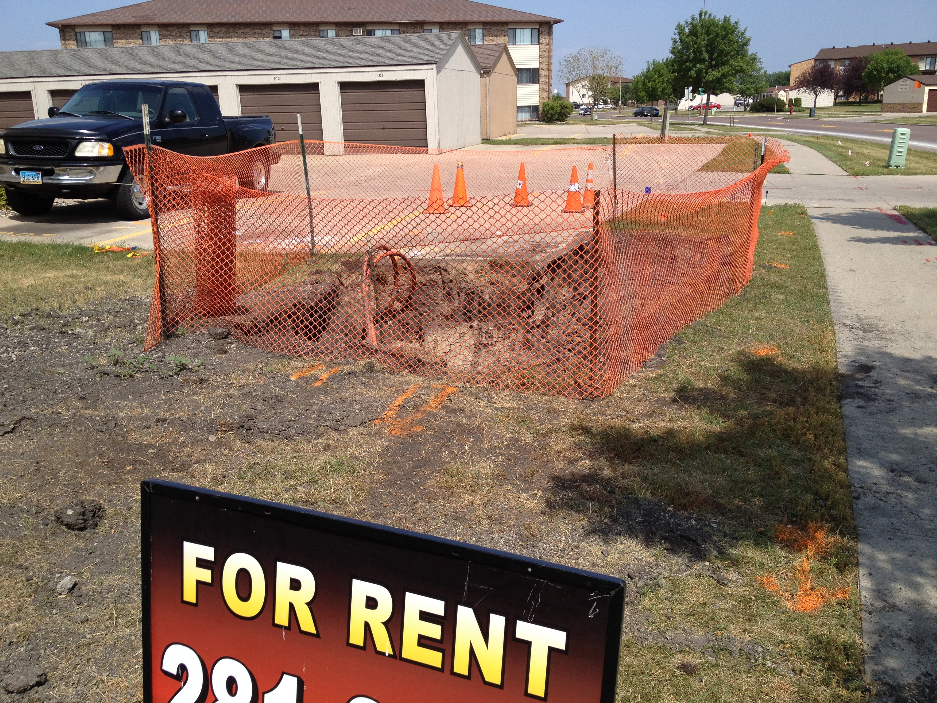 Hole In Ground Available For Rent In Fargo