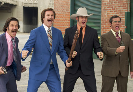 ANCHORMAN-Style Brawl Erupts in Motel 6 Parking Lot