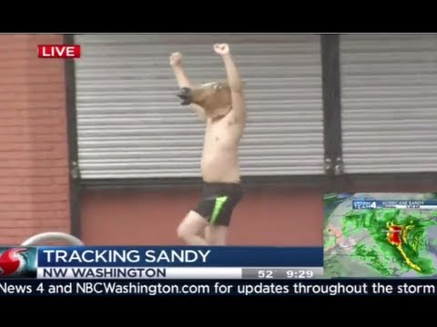 Best Hurricane Sandy News Bloopers