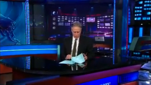 Jon Stewart Tears Apart CNN on Boston Reporting
